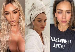 Kim Kardashian, Jessica Alba, Rosie Huntington-Whiteley : elles ne jurent que par cette marque pour leur peau