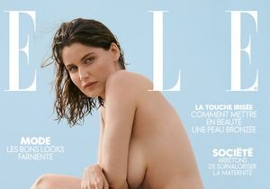 Quel est le secret du maquillage naturel de Laetitia Casta en couverture de ELLE ?