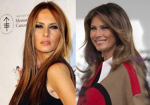 Avant/après : la transformation physique étonnante de Melania Trump