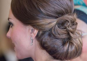 Comment faire le chignon de Kate Middleton