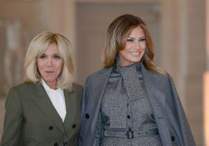Brigitte Macron et Melania Trump abandonnent leur coupe signature pour une nouvelle coiffure