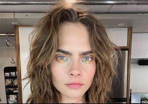 Cara Delevingne change radicalement de couleur de cheveux