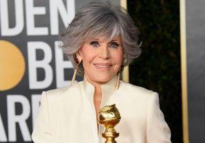 Jane Fonda fait sensation avec sa nouvelle coupe mulet