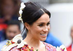 Meghan Markle : découvrez le message caché dans sa coiffure florale