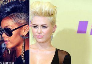 Le match capillaire : Rihanna - Miley Cyrus