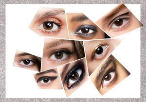 Comment maquiller des yeux marron ?