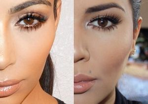 Incroyable : elles se transforment en Kim Kardashian !