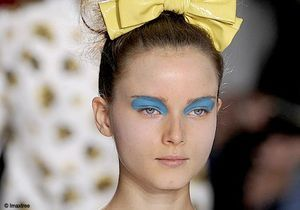Les tendances maquillage des défilés londoniens