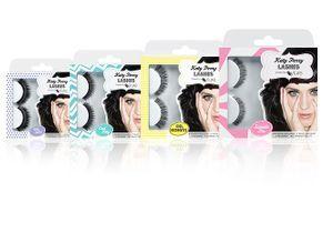Katy Perry crée sa collection de faux-cils