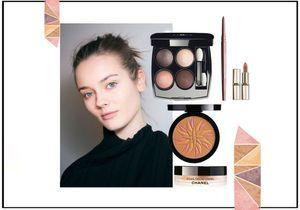 Du maquillage irisé pour illuminer notre été