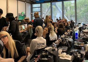 #BackstageBeauté : les plus beaux Instagram de la Fashion Week