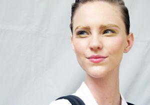 Dans le backstage en or du défilé Dior…