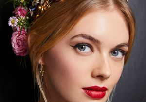 Fashion Week : 3 bonnes raisons de succomber au beauty look Dolce & Gabbana