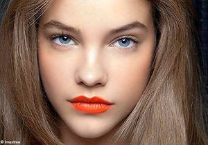 Make-up : la bouche géranium