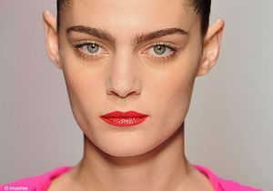 Maquillage : Bouches corail