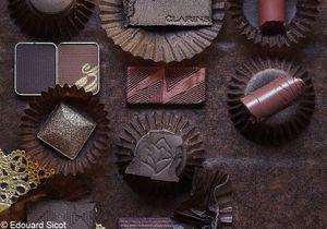 Maquillage : la tendance chocolat