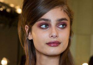 Rouge tendance : les plus jolies bouches repérées à la Fashion Week