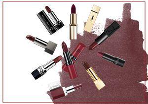23 rouges à lèvres bordeaux pour une bouche élégante