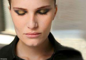 Shopping make-up : de l'or scintillant