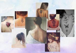 Ces tatouages de dos qu'on a envie de dévoiler
