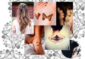 Tatouage papillon : 20 jolies idées repérées sur Pinterest