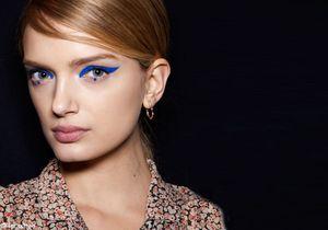 Tendances beauté : le make up bleu