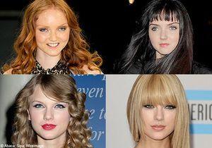 Cheveux : franges de stars