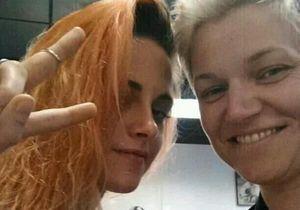 Cheveux : Kristen Stewart passe à l'orange