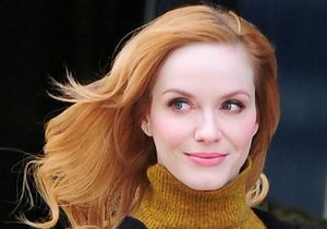 Comment « Mad Men » a bouleversé la routine beauté de Christina Hendricks