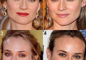 Diane Kruger assortit son rouge à lèvres à ses oreilles !