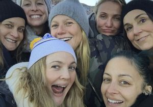 Drew Barrymore, Gwyneth Paltrow, Cameron Diaz : leur selfie cool sans maquillage