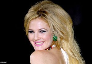 Drew Barrymore sort la choucroute sixties !