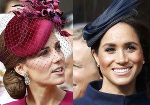 Kate Middleton et Meghan Markle renversantes au mariage de la princesse Eugenie