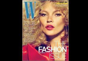 Kate Moss : elle augmente le volume (capillaire) !