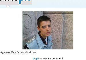 La nouvelle coiffure d'Agyness Deyn : top ou flop ?