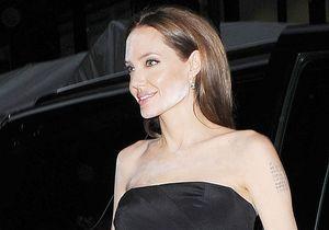 On sait pourquoi Angelina Jolie avait de la poudre blanche sur le visage
