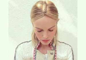 On veut la raie tressée de Kate Bosworth à Coachella !