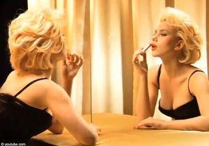 Vidéo : Scarlett Johansson se transforme en Marilyn Monroe