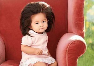 Ce bébé affole la Toile avec sa chevelure la plus spectaculaire au monde