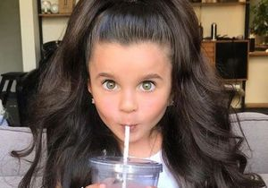 Cette petite fille affole Instagram avec sa chevelure la plus spectaculaire au monde