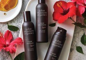 #ELLEBeautyCrush : la gamme Miel & Hibiscus de John Masters Organics pour booster notre chevelure