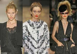 Fashion Week Paris : en 2010, on se crêpe le chignon