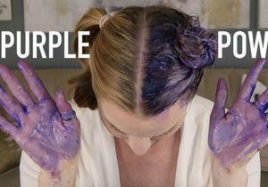 #PurpleShampooChallenge, le défi viral qui secoue les réseaux sociaux et nos cheveux