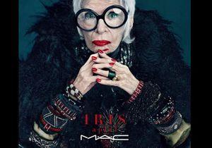 À 90 ans, Iris Apfel devient l'égérie des cosmétiques M.A.C.