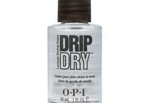 Astuce beauté : le vernis drip dry d'O.P.I