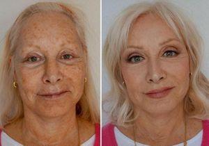 Avant / après : cette make-up artist maquille sa mère et elle parait dix ans plus jeune