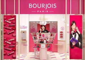 #ELLEBeautySpot : la nouvelle boutique 3.0 de Bourjois aux Halles, à Paris