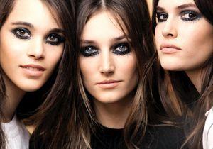 Le smoky eyes pailleté du défilé Chanel Paris in Rome nous inspire