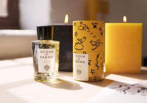 #ELLEBeautyCrush : Colonia Artist  Clym Evernden x Acqua Di Parma, un parfum de fêtes