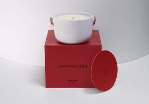 #ELLEBeautyCrush : une bougie Louis Vuitton en soutien à la lutte contre le sida